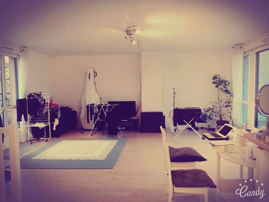 Big living room,