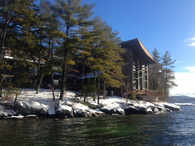 Luxury Waterfront Estate Bed and Breakfast - Wolfeboro - Haus