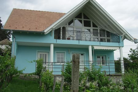 te huur vrijstaand huis met internet en airco - Szederkeny - 独立屋