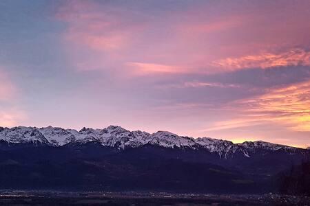 Superbe vue dans un écrin de nature