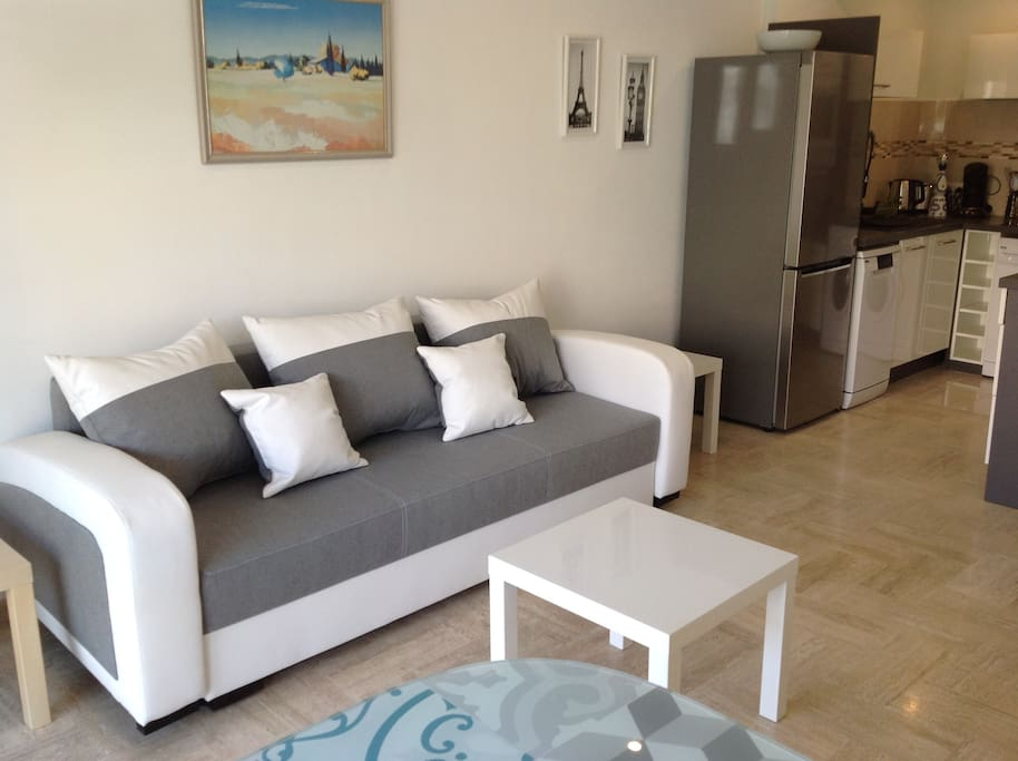 salon canapé-lit