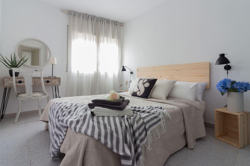 Dormitorio cama 150x200