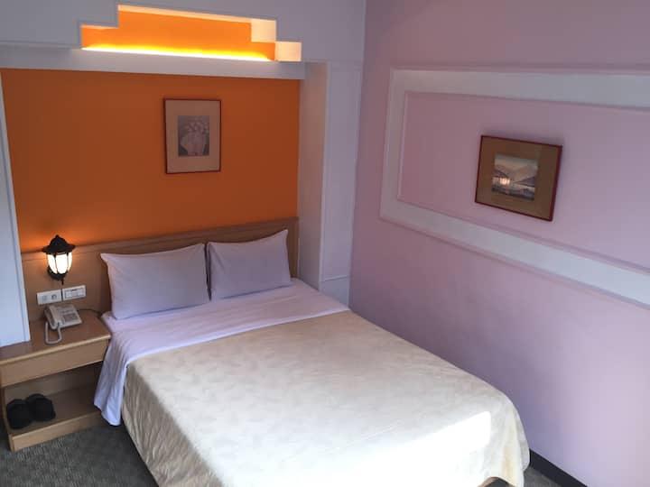 單床雙人房(一)