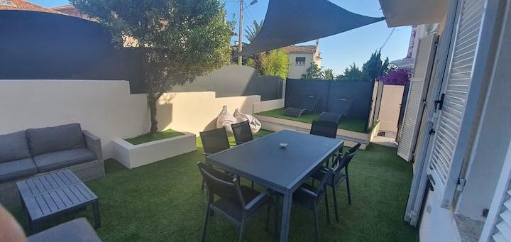 Maison - Private House Cannes  2 apparts séparés
