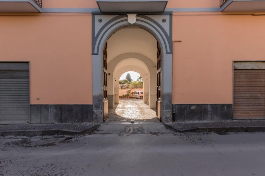 entrata palazzo