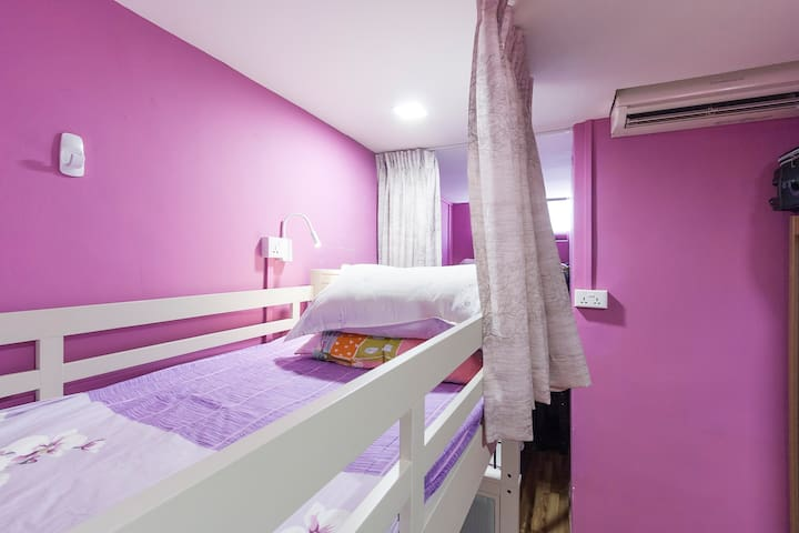 Diva's Bed/Shared Room @citycentre-Female only!