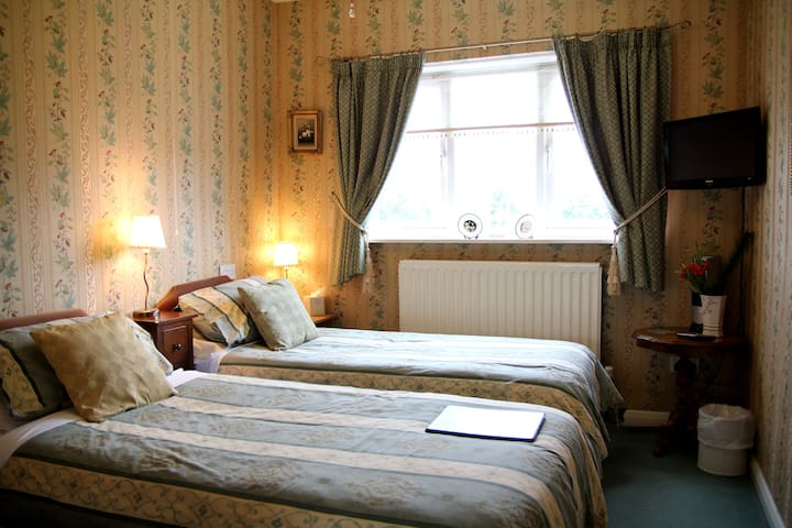 Moonraker House - twin room with ensuite shower - Stratford-upon-Avon - Bed & Breakfast