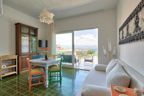 'In Calada' Panoramic Flat in Cala Moresca Arbatax