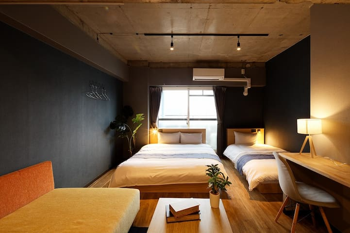 【New!Apartment】3min.stn.★Tsutenkaku/Shinsaibashi