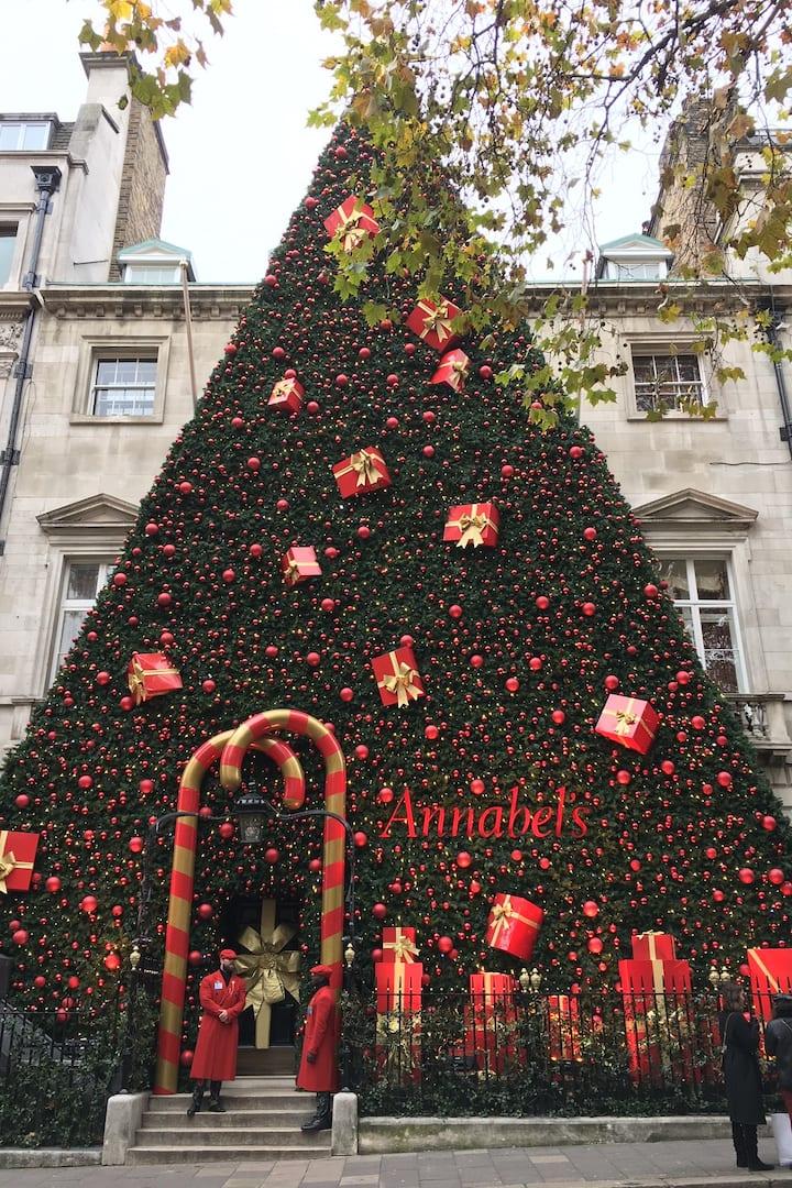 London's premier Xmas display