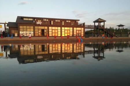 龙湖金沙湾复式湖景房1