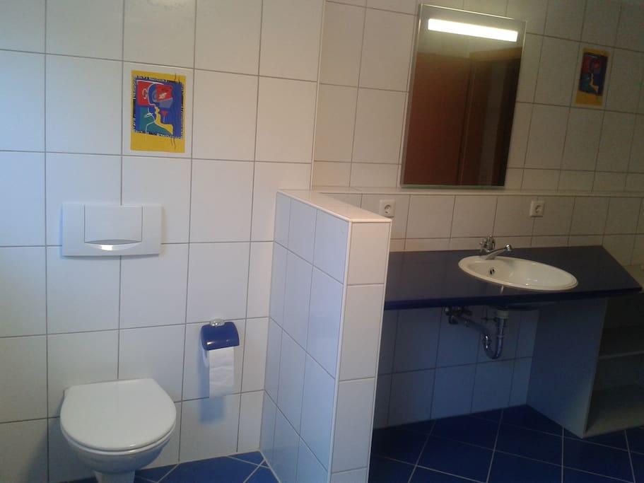 Gästebad/Dusche