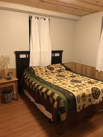 Downstairs Queen Guestroom