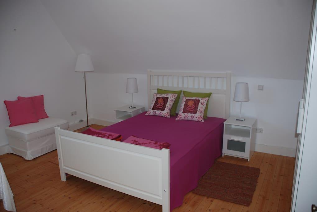 Pink-Oranges Zimmer