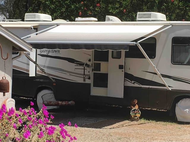 The Roost.  RV comfort