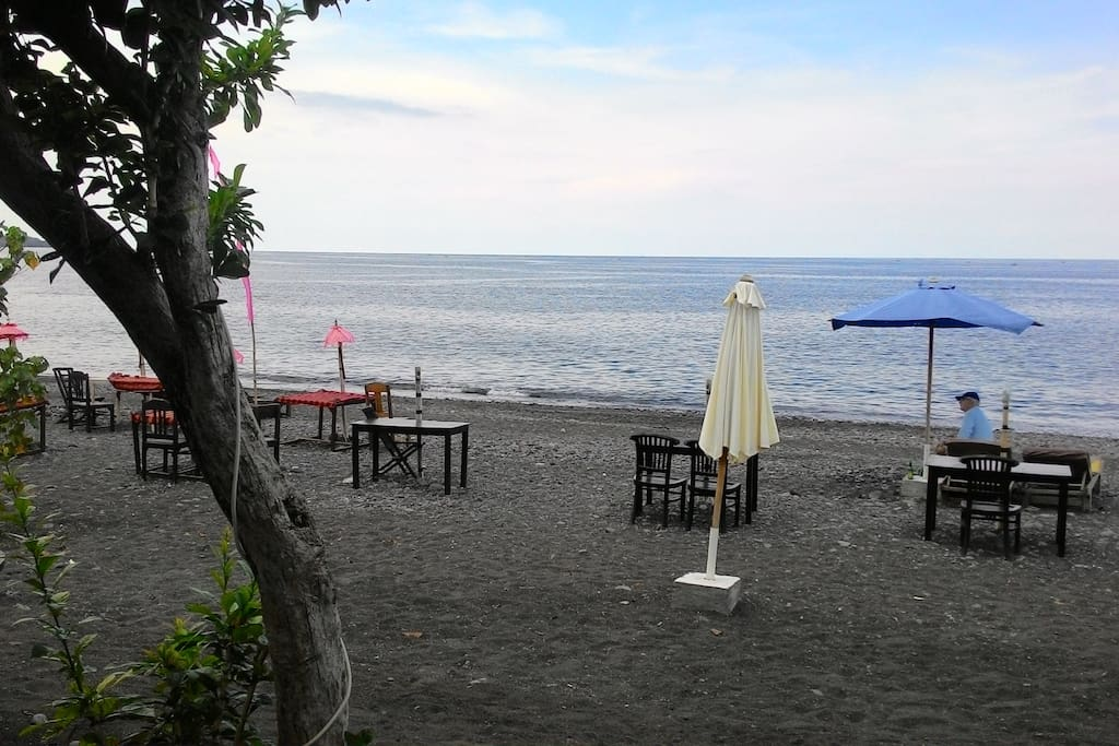 The Quiet and Beautiful Beaches in Pakel's Bali Villas