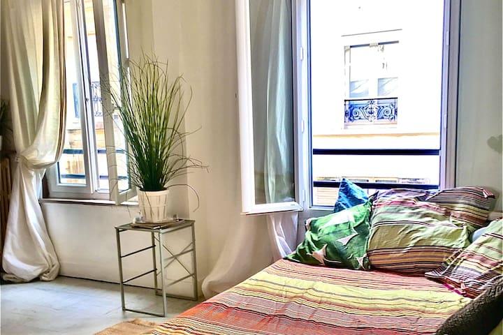 Studio Atypique et Chaleureux au cœur de Paris