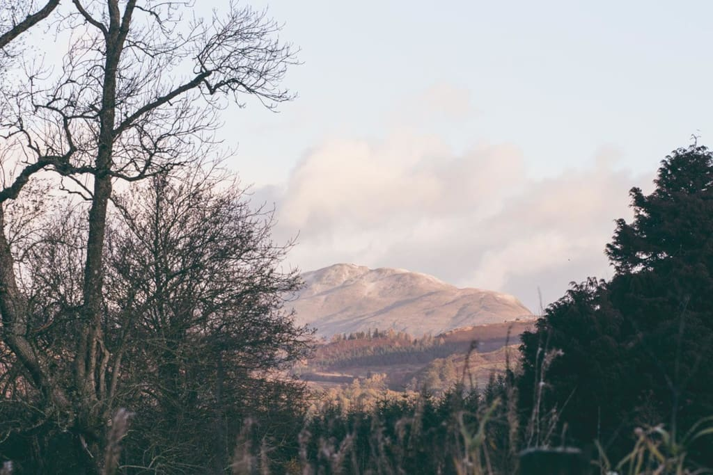 Ben Ledi from the Guest Room Window