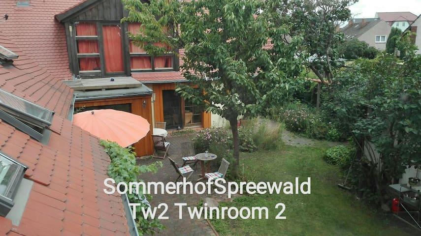 Tw1 Sommerhof Spreewald Twinroom 1
