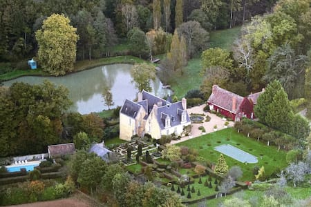 COUNTRY CHATEAU IN LOIRE VALLEY - Le Boulay - Talo