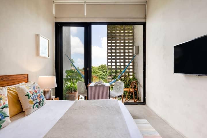 31 square meters studio inside Cancun's heart