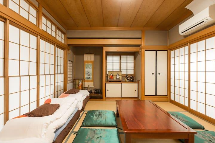 和室房間#2 伏見稲荷民宿。 位於京都的觀光景點,歡迎出差客能多加利用