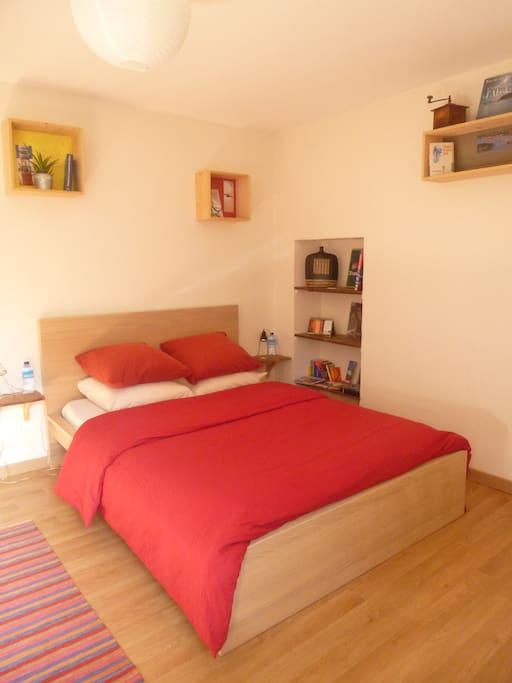 chambre au coeur des menhirs et des bois carnac chambres d 39 h tes louer carnac bretagne. Black Bedroom Furniture Sets. Home Design Ideas