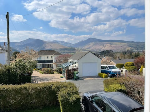 PANORAMIC views in the heart of the Lakes, Keswick
