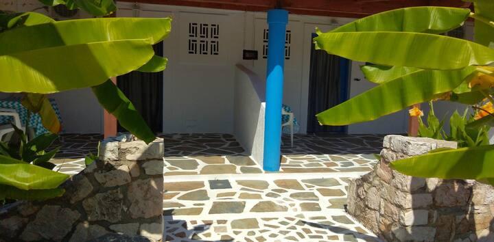 Spasmata studios next to the sea