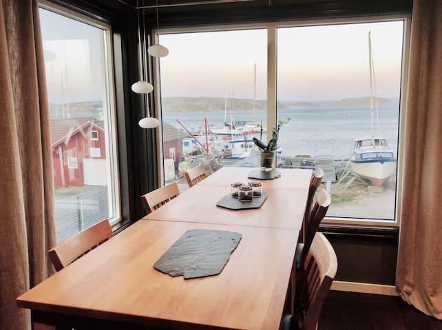Havsnära Smögen-villa med morgondopp! ❤️