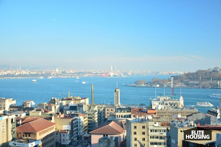 STYLISH TERRACE FLAT WITH CITY'S BEST VIEW 3 - Beyoğlu - Lejlighed