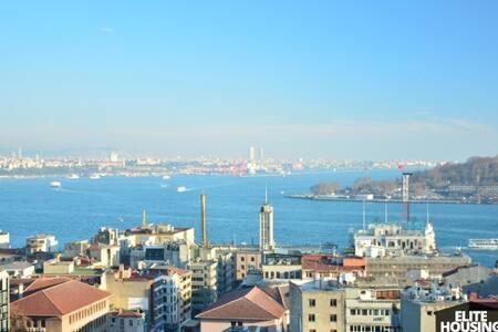 STYLISH TERRACE FLAT WITH CITY'S BEST VIEW 3 - Beyoğlu - Lägenhet