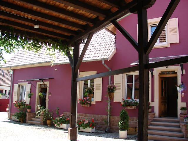 Corps de ferme, 3 pièces proche Obernai et Vosges - Stotzheim - Casa