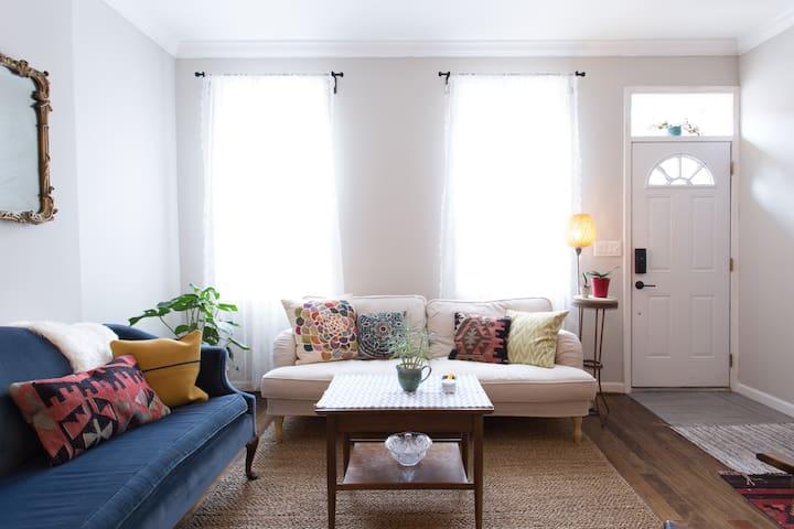 Small Peaceful Room in South Philly - Philadelphia - Casa adossada