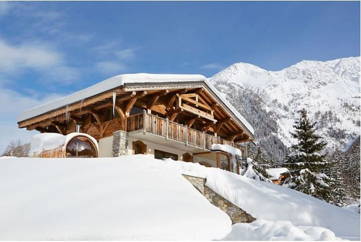 2 Bedroomed Apartment - Chalet Grands Montets - Chamonix - Chalé