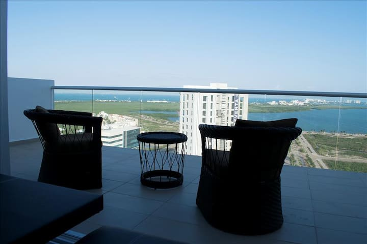 LUXURY PENTHOUSE 2BR by VACAY - Cancun - Byt