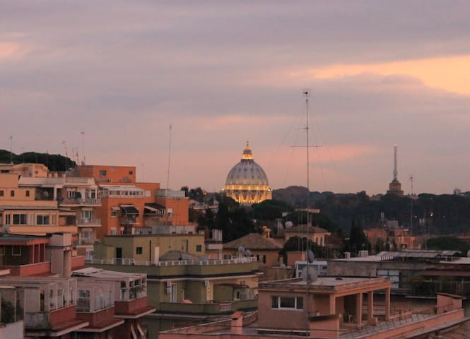 A terrace on Rome - Roma - Daire