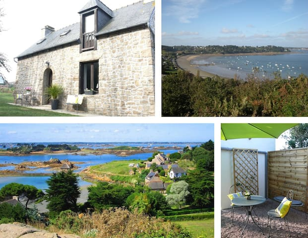 Holiday cottage, near the Isles of Bréhat
