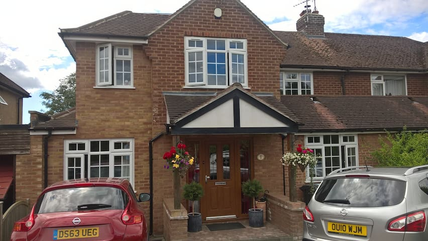 Lovely house close to Airport and Harpenden rail - Wheathampstead - Rumah
