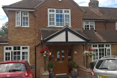 Lovely house close to Airport and Harpenden rail - Wheathampstead - Haus