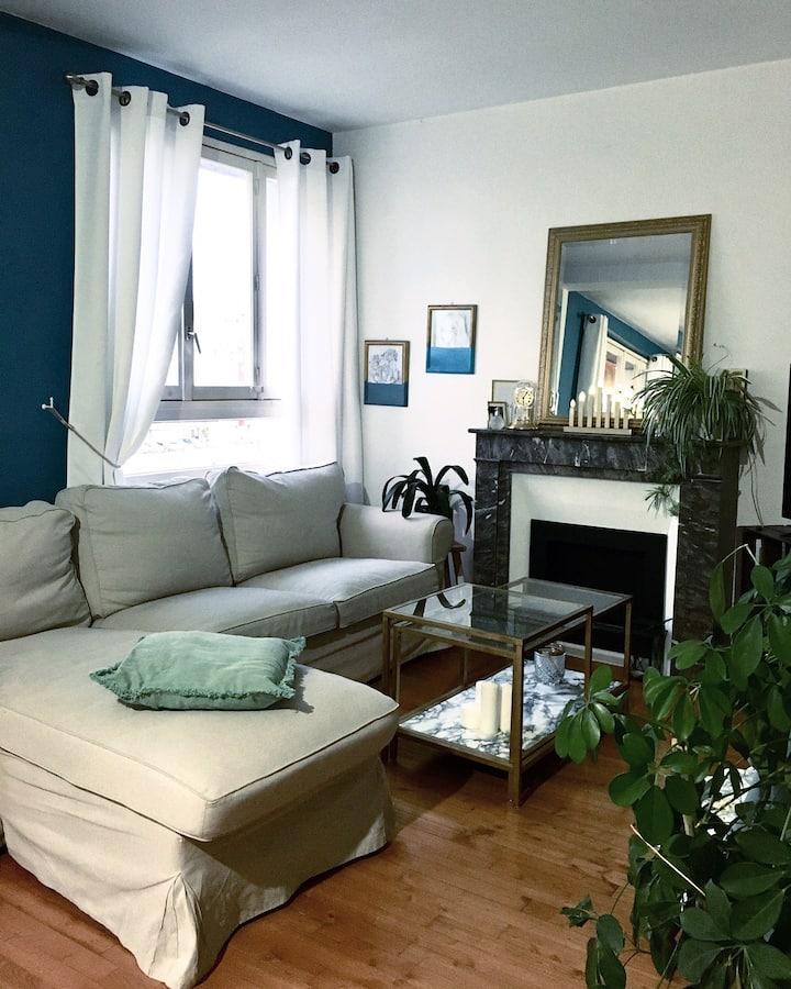 Appartement en centre ville, proche tram et 24h