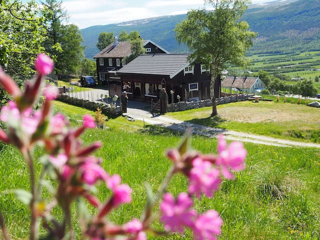 """Koselig stort gjestehus """"Avdemshaugen"""" i Lesja"""