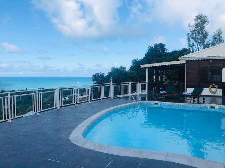 Kaban A Loulou-Villa créole vue mer à Friar's Bay!