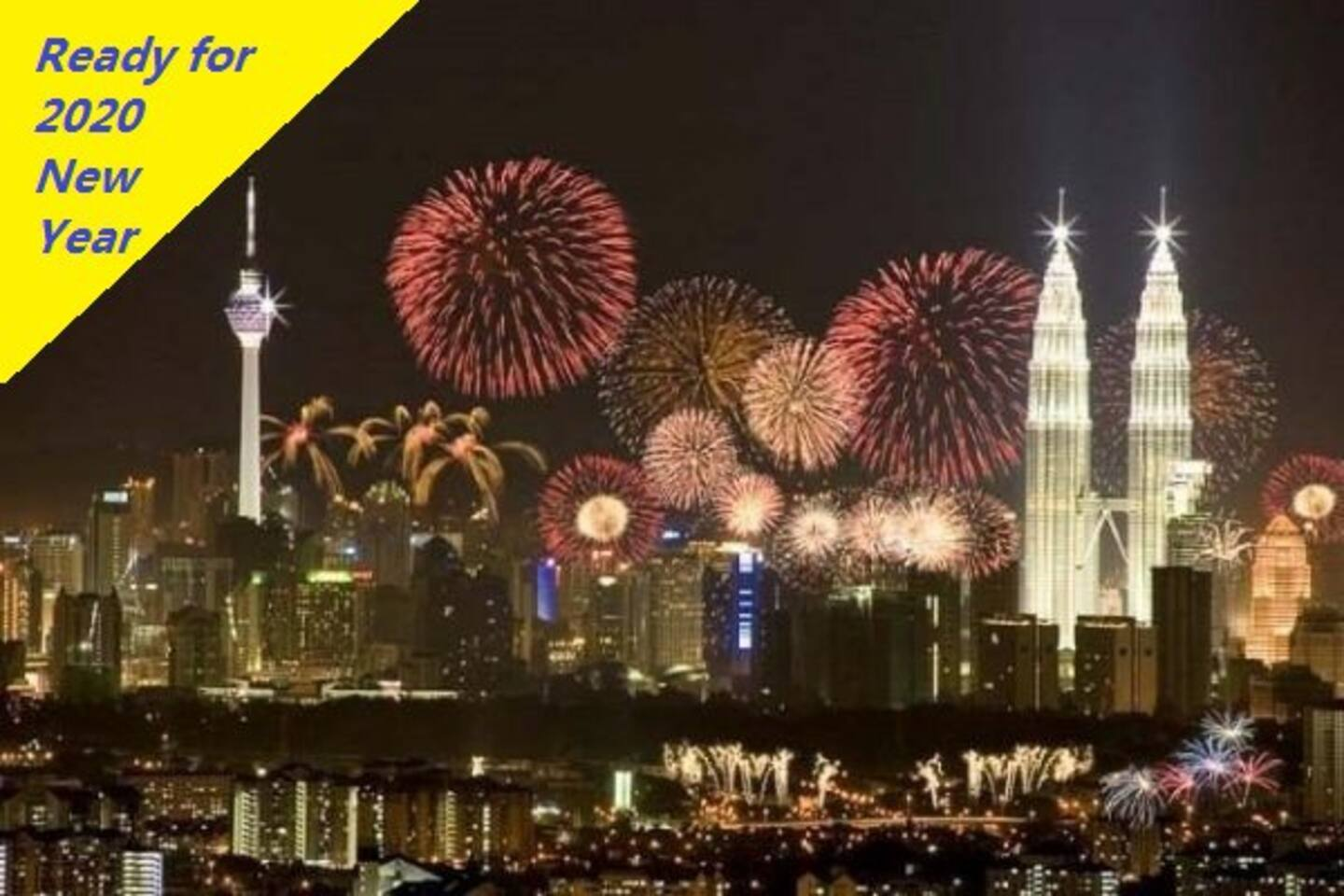 Are you ready to watch the 2020 new year eve fireworks show ? Book now to secure a stay.