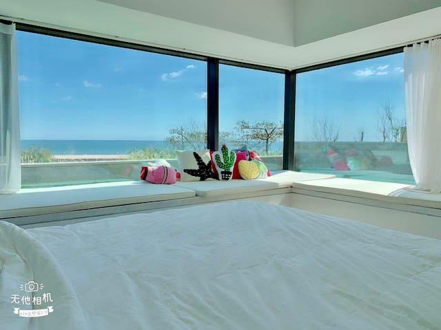大海的家(270度海景三卧室看海 推门步海六大三小)
