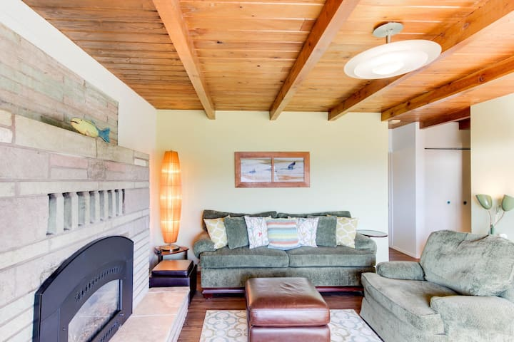 Lakeview home w/ convenient location and a private hot tub!