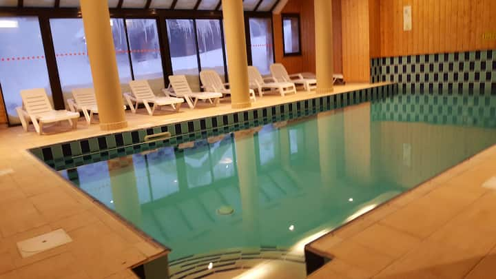 Appart T2 6 couchages 4*  Piscine, Sauna