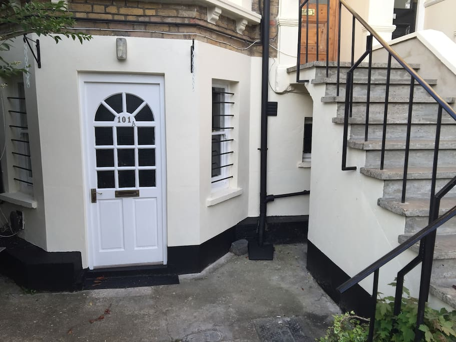 Own front entrance