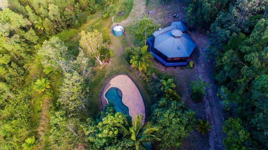 Tyalgum Yurt Mt Warning