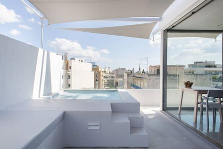 Spectacular Pool Apartment in the Heart of Athens